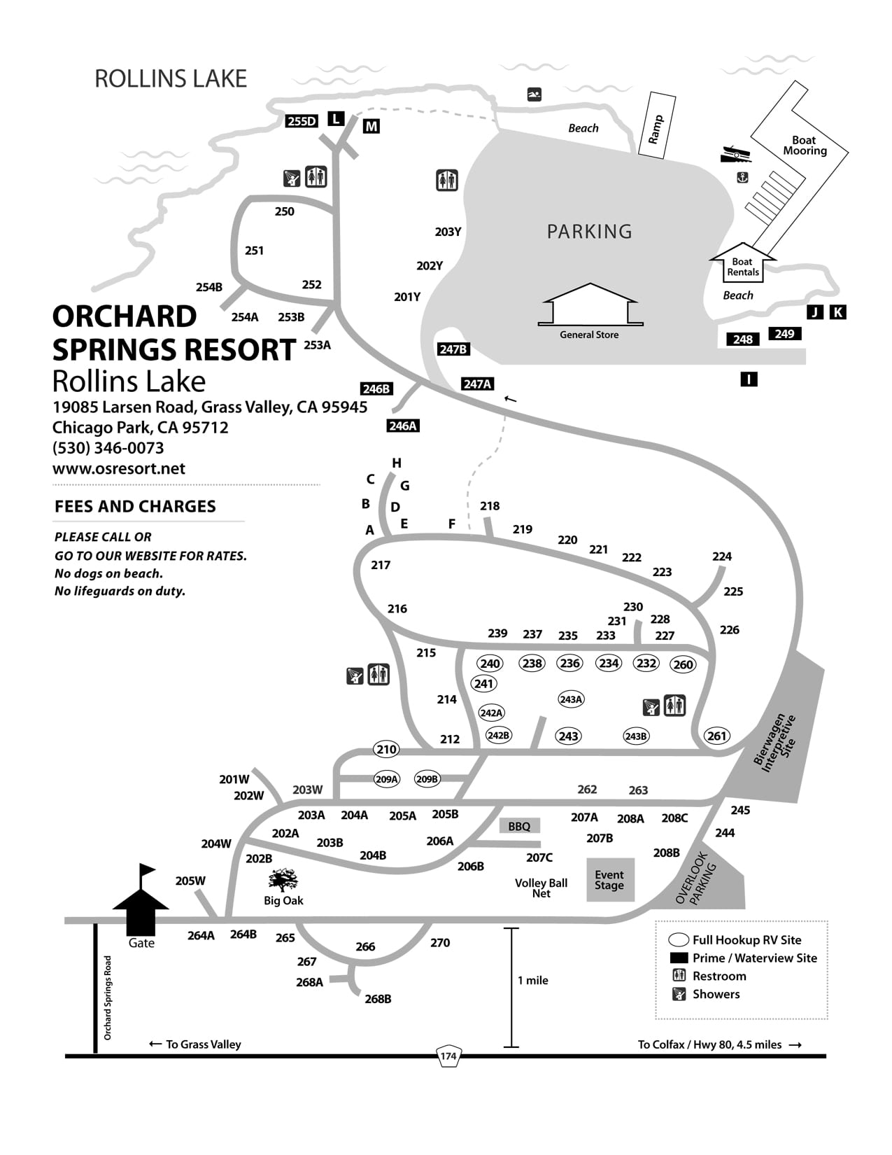 Orchard Springs Camp Map - NID Recreation